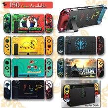 Nintendoswitch Protéger Boîtier PC Nintend Interrupteur Accessoires De Coquille Peau Nitendo Couverture Nitendo Poignées pour Nintendo NS Jeux