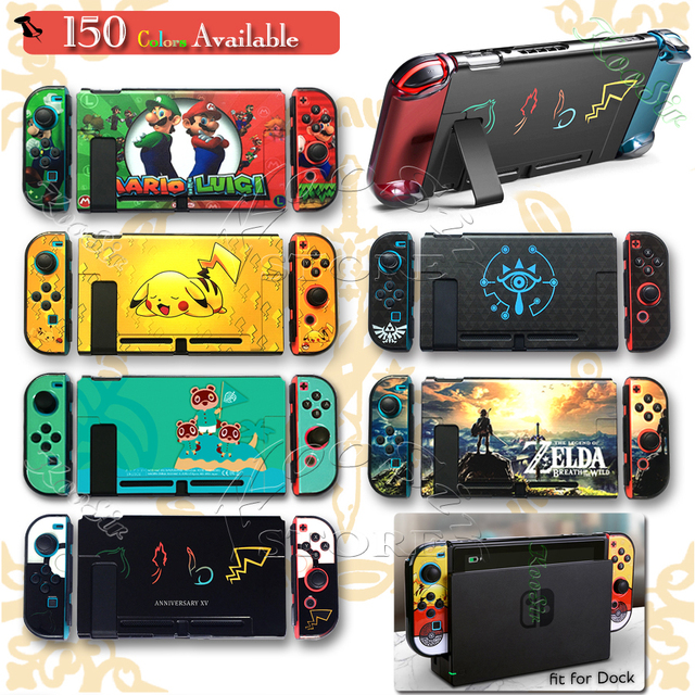 Nitendo Nintend Switch Thin Protective Hard PC Case NS Cover Nintendoswitch Bag Protector Shell Grips Cover for Nintendo Switch