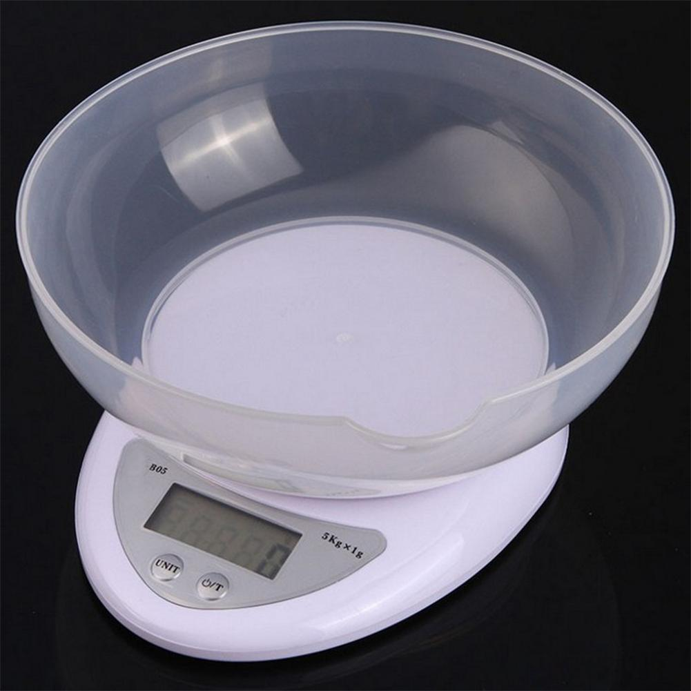 New 5kg 1g Precise Kitchen Digital LED font b Electronic b font Scale Kitchen Restaurant Food
