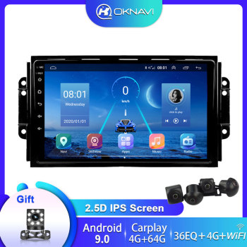 4G 64G Android 9.0 DSP Car Radio GPS Multimedia Player For Chery Tiggo 3X 2016 2017 2018 With RDS Navigation 2 din Bluetooth WIF image