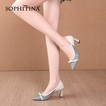 Sophitina/Женская обувь; Модные элегантные женские туфли лодочки