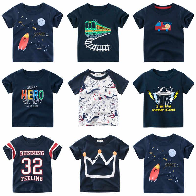 Baby Jongens Shirts 2020 Nieuwe Jongens Zomer T-shirts Kinderen Cartoon T-shirt Kinderen T-shirts Voor Jongens Korte Mouwen jongens Katoenen Shirts
