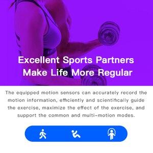 Image 5 - Мужские Смарт часы GEJIAN D13, кровяное давление, водонепроницаемые, умные часы для женщин, пульсометр, фитнес часы, спортивные часы для Android IOS