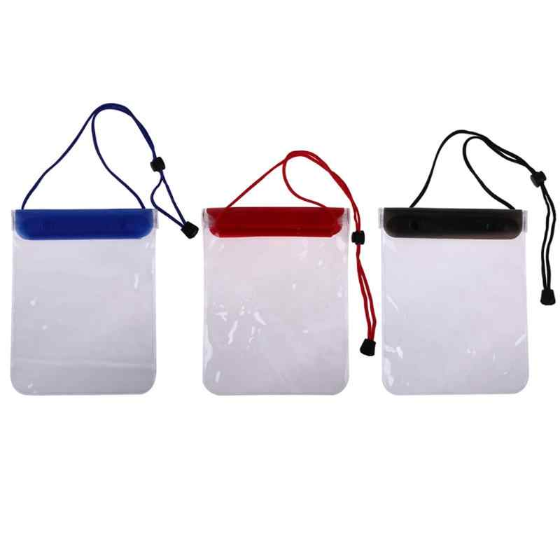 Waterdichte Tas Case Telefoon Grote Pouch Houder Zwemmen Waterdichte Dry Bag Zwemmen Duiken Case Cover Voor Mobiele Telefoon 3 Kleuren