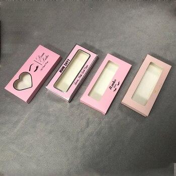 Cajas de pestañas con logotipo personalizado Cajas de Regalo personalizadas caja de cosméticos