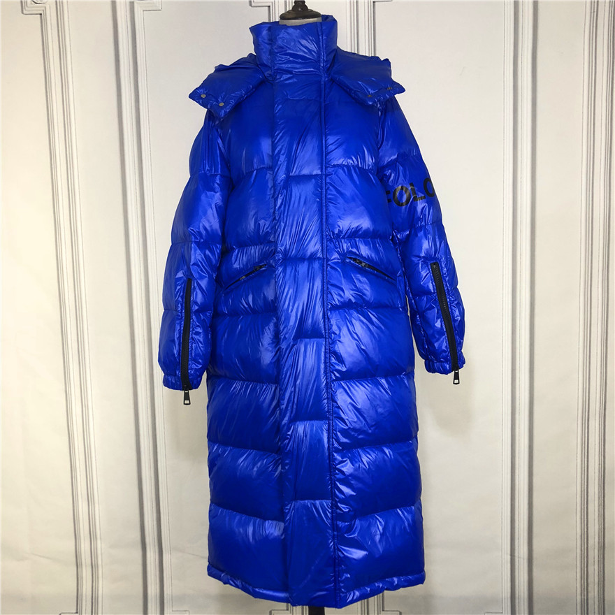 Thick Warm Winter Women's Down Jacket Hooded Streetwear 90% Duck Down Coat Fashion Woman Clothes 2020 X-Long Coat Hiver