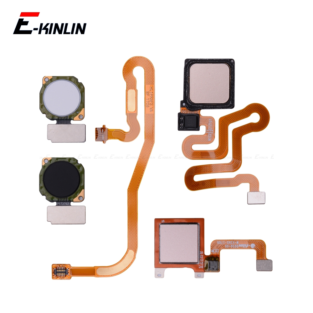 Fingerprint Scanner Connector For Huawei P9 Plus P8 Lite 2017 Mini Touch Sensor ID Home Return Button Key Connection Flex Cable