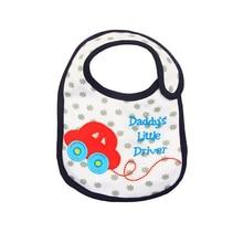 Hzirip Baby Bibs Cute Cartoon Pattern Toddler Waterproof Saliva Towel Cotton Fit 0-3 Years Old Infant Burp Cloths Feeding