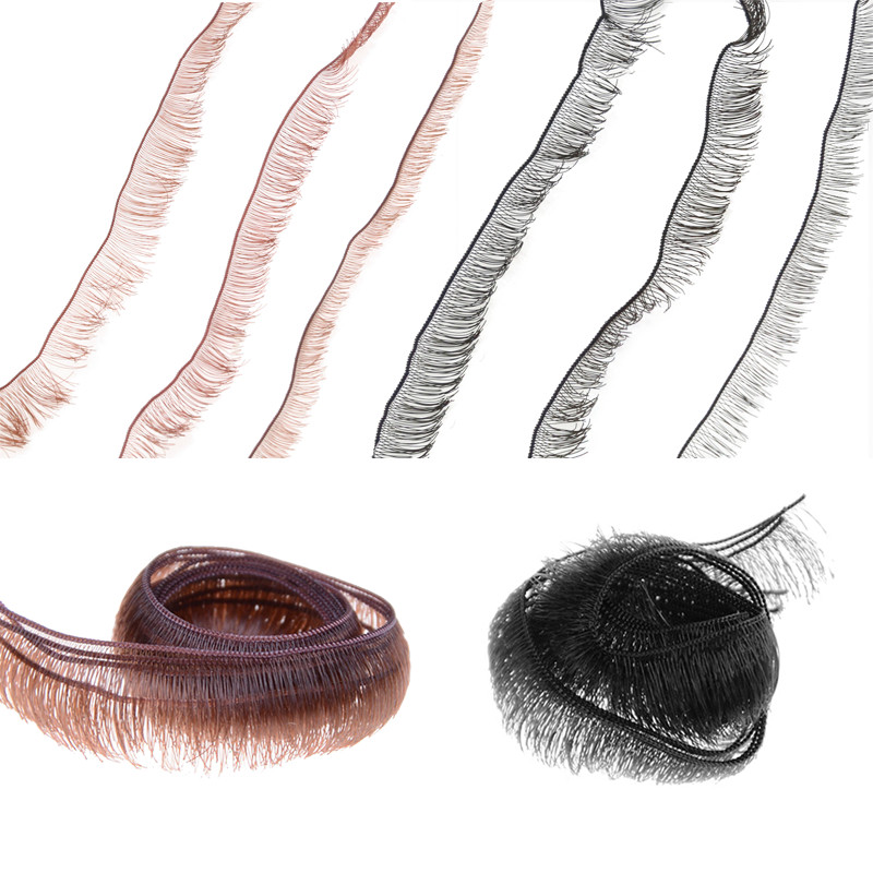 10pcs/lot Eyelashes For Doll Baby Dolls Accessories Doll Eyelashes Accessory 0.8cm Width Wholesale Dolls Accessories