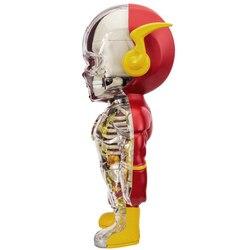 Großen Flash-4D XXRAY master Mighty Jaxx Jason Freeny anatomischen cartoon