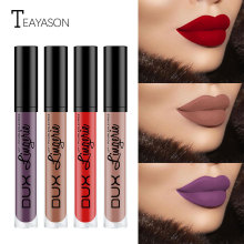 Waterproof Nude Matte Long Lasting Lipstick Velvet Glossy Lip Gloss Lip Stick Balm Sexy Red Frosted Lip Tint Popular Makeup