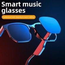 NEW Smart Wireless Bluetooth 5.0 Headset Music Glasses Outdoor Cycling Sunglasses Headphones Sports Earphones Built-in Speaker