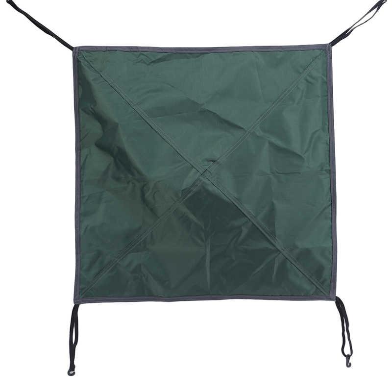 التخييم في الهواء الطلق بقاء الشمس المأوى الظل غير نافذ للمطر المظلة طلاء مقاوم للماء خيمة للشاطئ رئيس القماش غطاء قماش خفيفة قماش القنب