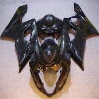 Injection moulding fairing kit for suzuki K5 GSXR 1000 2005 2006 kits 05 06 all glossy black full fairings kits