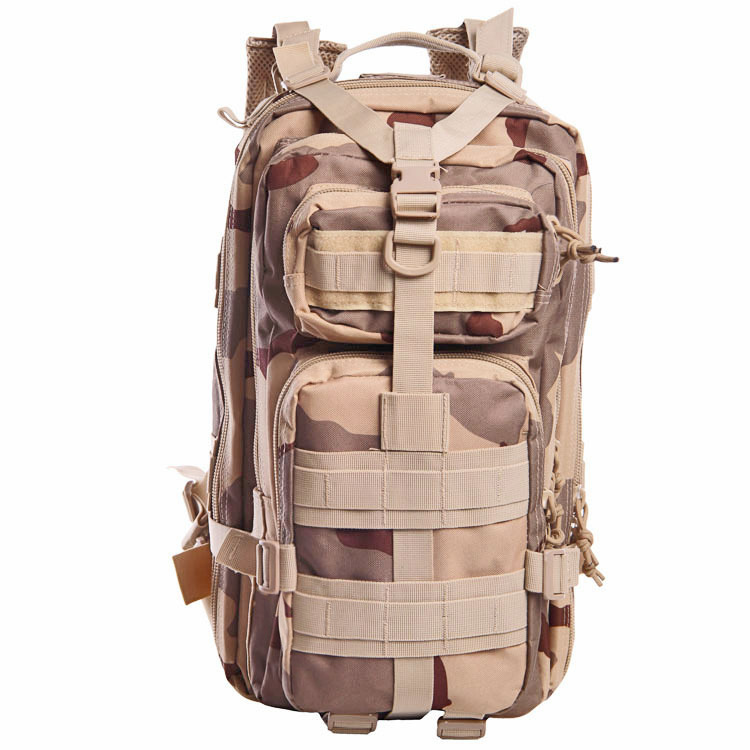 Upgraded 3P Backpack Army Fans Tactical Backpack Assault Backpack Men And Women Outdoor Small Camouflage Mountaineering Bag 9-Co