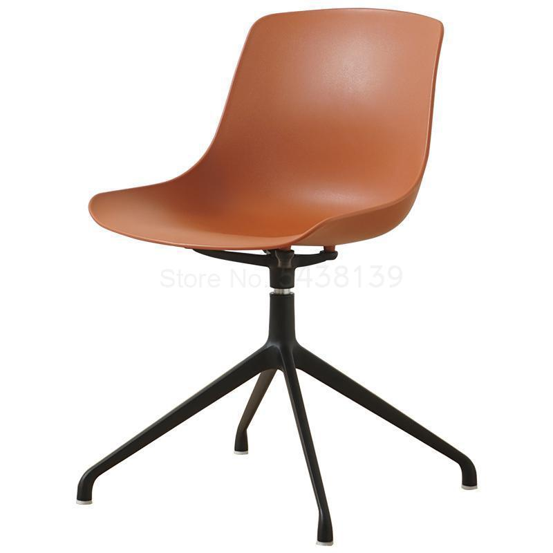 Nordic Computer Chair Personality Simple Modern Multifunctional Creative Home Back Seat Leisure Study Conference Swivel Chair