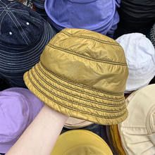 Искусственная кожа хлопок яркое ведро шапки женские теплые модные