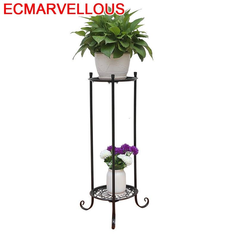 Afscherming Decorative Metal Saksisi Decoration Terrasse Mensola Porta Piante Flower Shelf Balcon Stand Balkon Plant Rack