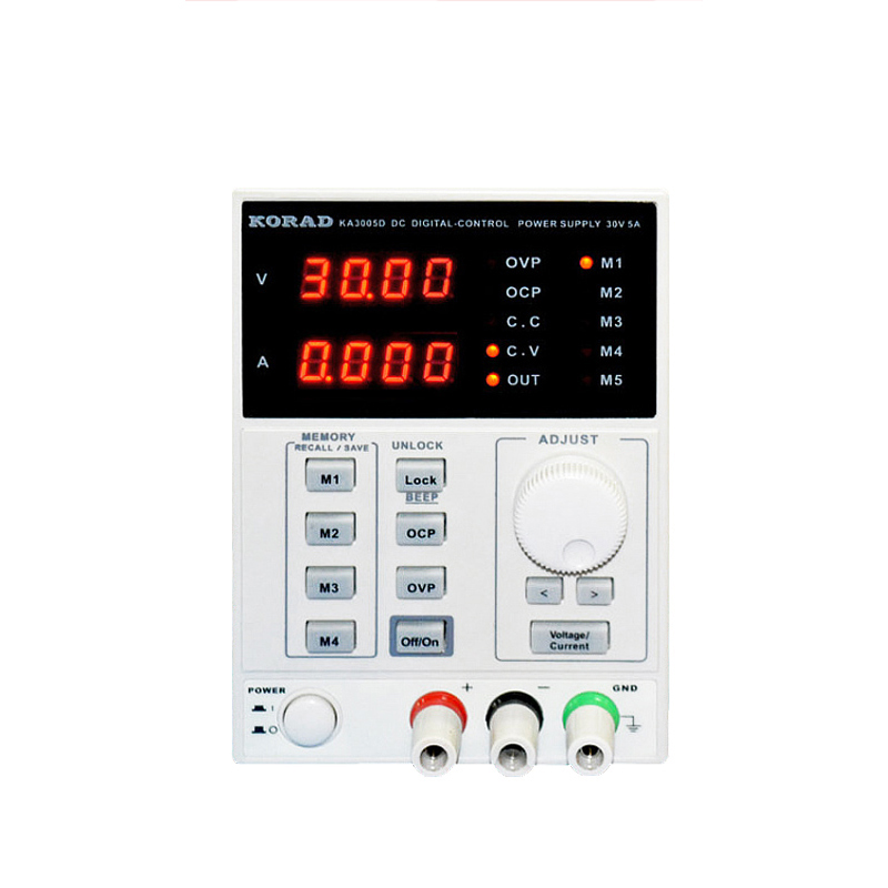 KORAD KA3005D <font><b>Adjustable</b></font> Digital Programmable DC <font><b>Power</b></font> <font><b>Supply</b></font> Laboratory <font><b>Power</b></font> <font><b>Supply</b></font> <font><b>30V</b></font> <font><b>5A</b></font> + Multimeter probe For LAB R image