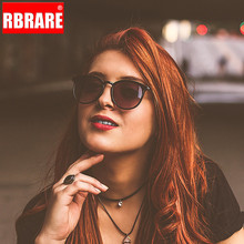 RBRARE 2019 Retro Round Sunglasses Women Brand Designer Sun Glasses for Men Classic Alloy Mirror Oculos De Sol