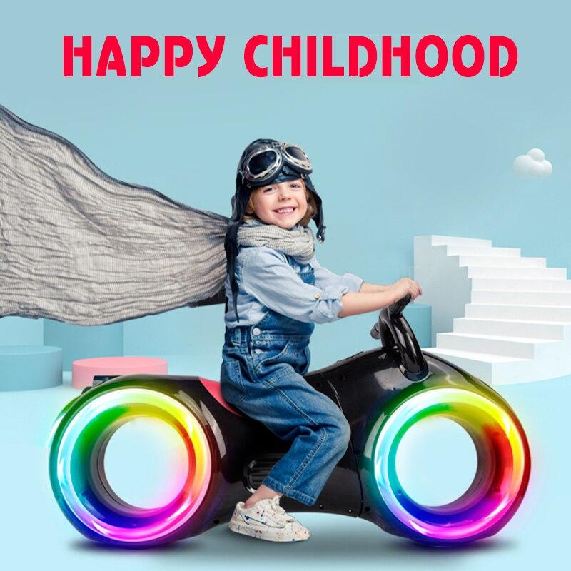 Электрические детские автомобили электрический мотоцикл батарея 5В. 3а. С музыкой детская езда на игрушках для детей, электрическая, для авт...