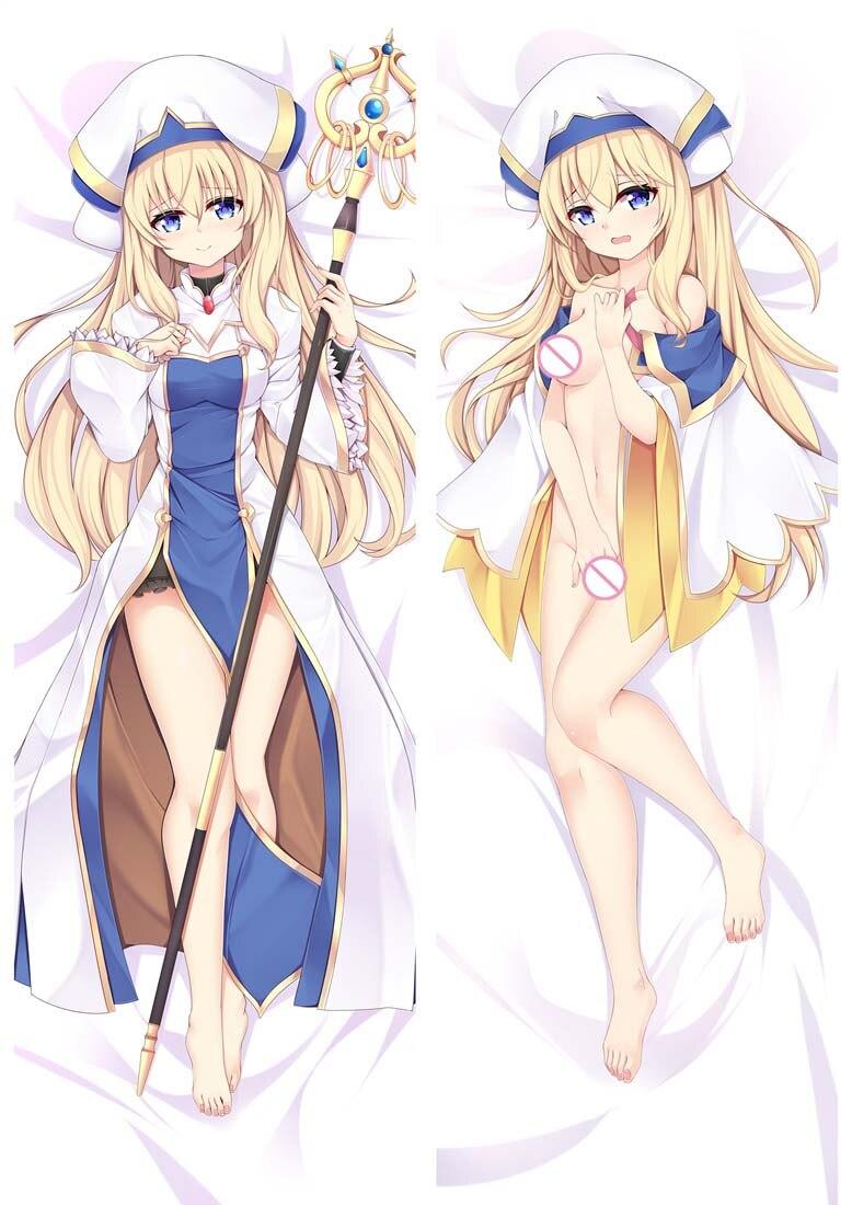 Original Goblin Slayer anime Characters sexy girl priestess body Pillowcase sword maiden Dakimakura pillow cover