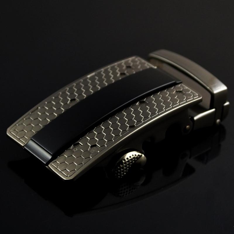 New Genuine Men's Belt Head, Belt Buckle, Leisure Belt Head Business Accessories Automatic Buckle Width 3.5CM Belts LY125-0352