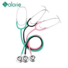 Estetoscopio médico de doble cara para médicos, estetoscopio médico profesional para enfermeras, dispositivo de equipamiento médico para estudiantes