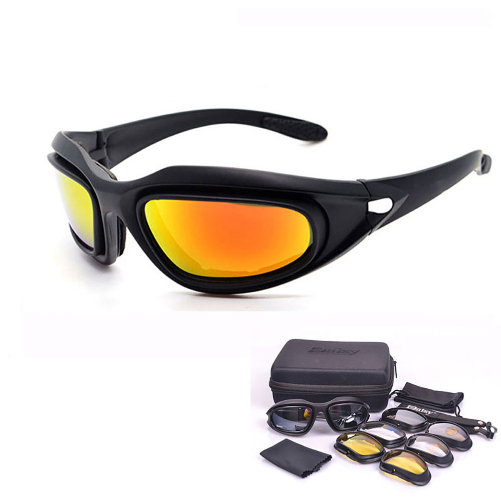 Motorcycle Glasses Army Sunglasses Cycling Eyewear for YAMAHA wr 125 250f 450f xj <font><b>6</b></font> <font><b>600</b></font> 1200 400 1300 xmax 125 250 300 image
