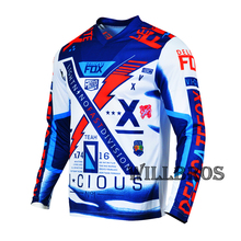 T-Shirt Jersey Motorbike Delicate Offroad Mountain-Bicycle Long-Sleeve Fox-180 Summer