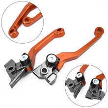 For KTM Brake Clutch Lever Pivot 150SX/XC/XCW 16-17 Orange Universal Replacement 200EXC 16(China)