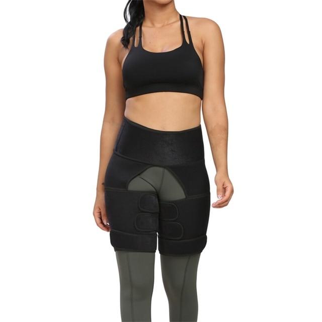 Protection belt WAIST SECRET Slim Thigh Trimmer Leg Shapers Slender Slimming Belt  Sweat Shapewear Toned Muscles Band Thigh Slim 1