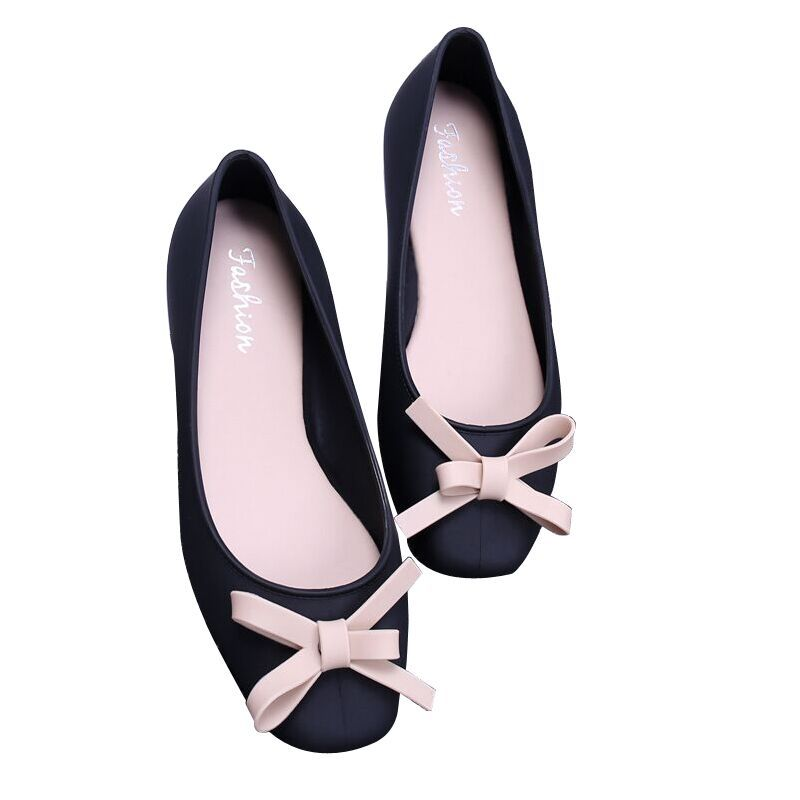Single-Shoes Fragrance Ballet Sweet Fashion Ladies Wind-Bow Little