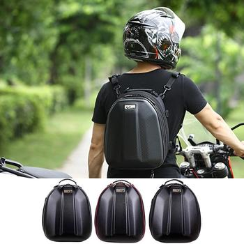 Motorcycle Tail Bag Multifunctional Waterproof Motorcycle Back Seat Pack Biker Large Capacity Backpack With Reflective Strip