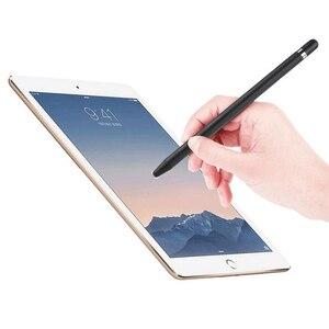 Универсальный стилус для сенсорного экрана с мягким наконечником и защитой от отпечатков пальцев, совместим со всеми смартфонами и планшетами с сенсорным экраном