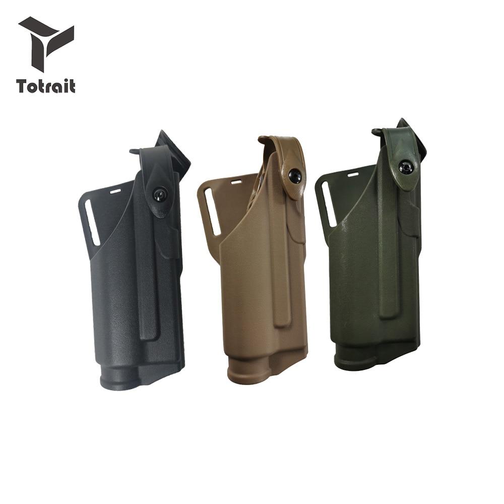 Coldre glock 17 19 22 23 31 32 pistola airsoft cinto rolamento lanterna tática coldre