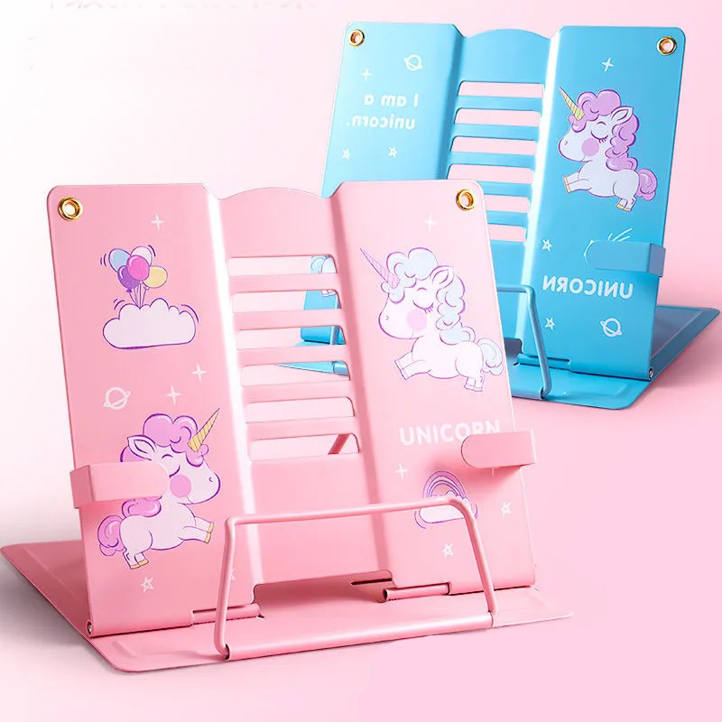 Reading Book Stand fixed book holder School Supply Adjustable Durable Angle Foldable Book Stand Student school Display Stand