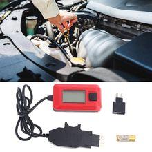 Otomatik sigorta Buddy Mini test cihazı dedektörü araba elektrik akımı AE150 12V 23A LCD