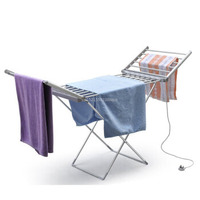110V/220V Foldable Electric Drying Clothes Dryer Thermostatic Clothes Drying Rack Energy Saving Clothes Shoe Drying Machine