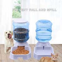 3.8L Pet Automatic Feeder Dog Cat Water Drinking Cat Cat Feeding Large Capacity Dispenser Pet Cat Bowl Dog