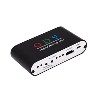 Video Converter With Indicate Light DC 5V TV Screen HDMI To AV CVSB Box Adapter USB Powered Computer Monitor Professional