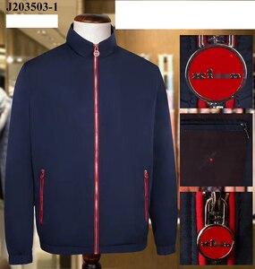 Miliarder kurtka mężczyźni 2020 wiosna nowa, cienka moda Casual Business comfort anglia wysokiej jakości zamek błyskawiczny gentleman big size M-4XL