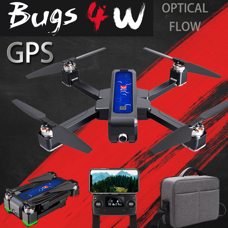 2019 New B4W GPS Drone Brushless Foldable RC Drone 5G Wifi Fpv With 4K Camera Anti-shake Optical Flow Rc Quadcopter Helicopter