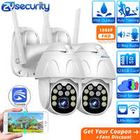 1080p WiFi PTZ Kamera Outdoor Wireless Home Security kamera Speed Dome SD Karte P2P Cloud CCTV Video Überwachung Kamera yoosee