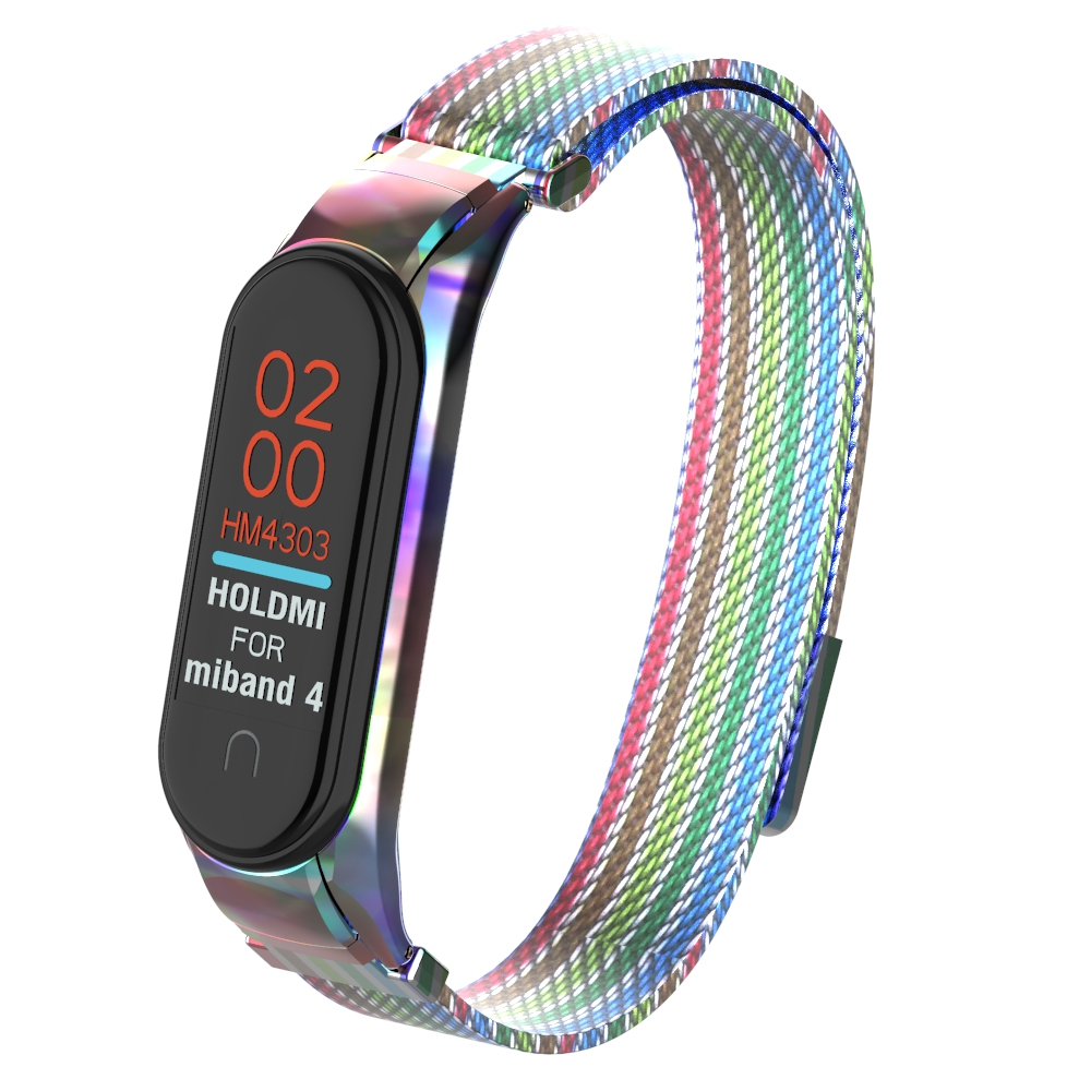 YAYUU Mi Band 4 3 Strap Metal Stainless Steel For Xiaomi MiBand 3 Strap Compatible Miband 4 Wristbands New Color Pulseira