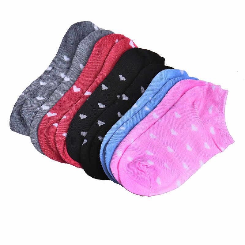 5 Pairs bayan spor rahat ayak bileği düşük kesim pamuk çorap kadın yün kaşmir kar mürettebat çorap bayan Harajuku Trend kaliteli çorap