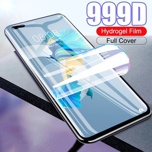 Мягкий защитный чехол с полным покрытием для huawei mate 20 pro 20X 30 lite 30E 40 pro RS plus, Гидрогелевая пленка, не стекло, защита экрана телефона