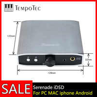 Convertidor Digital-analógico (DAC) TempoTec Serenata iDSD DAC USB y amplificador de auriculares para PC MAC iPHONE Android 24bit/192khz DSD