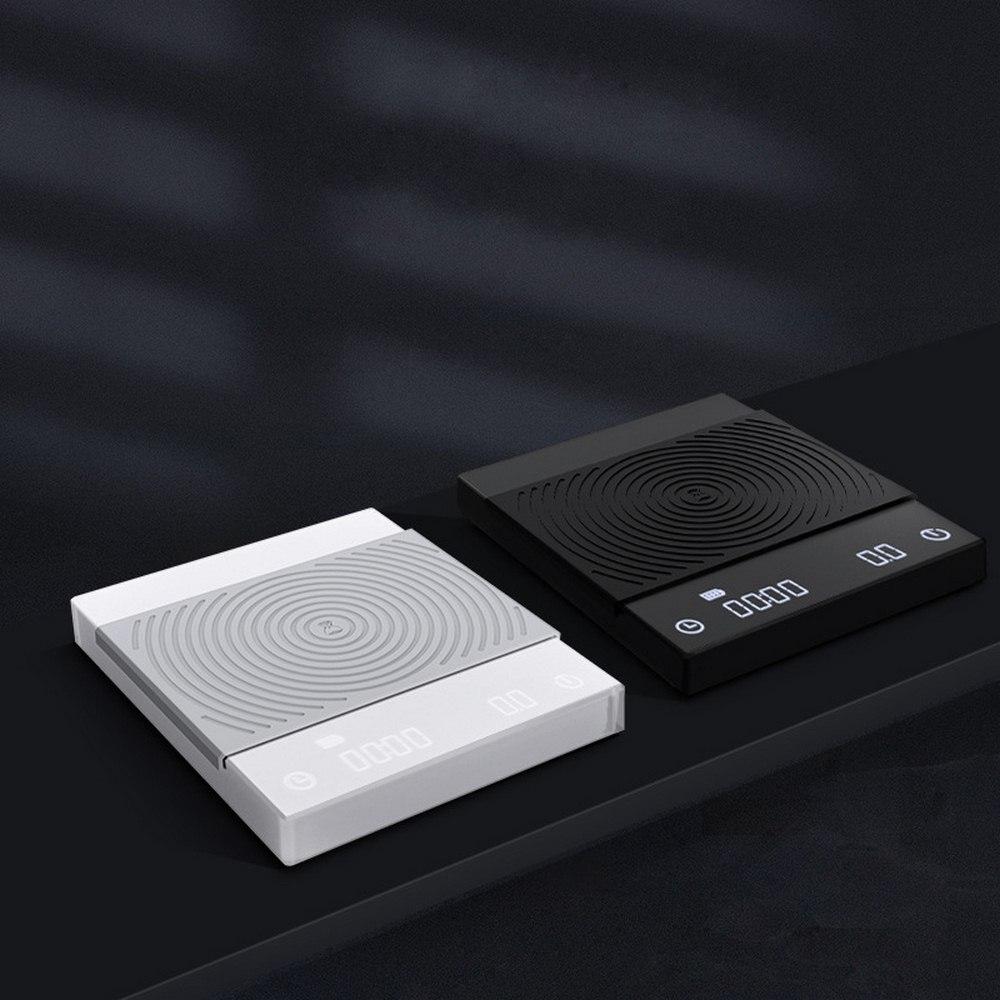 Timemore LED חכם דיגיטלי בקנה מידה יוצקים קפה אלקטרוני טפטוף קפה בקנה מידה עם טיימר 2Kg שחור בסיסי קפה בקנה מידה מטבח cocina