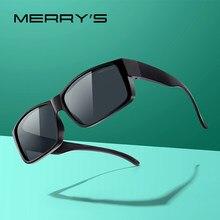 MERRYS DISEGNO Fit Over Occhiali Occhiali Da Sole con Lenti Polarizzate per Gli Uomini e Le Donne UV400 Protezione S3015